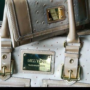 Handbags - Miss Tina Limited Edition Fake Ostrich Print